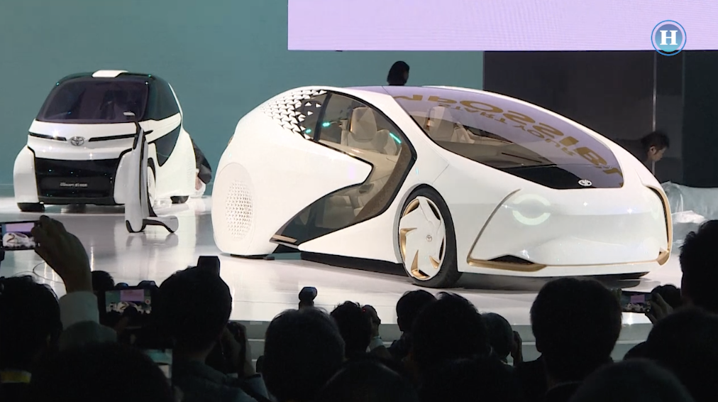 "Presentan autos ""inteligentes"" en Tokio"