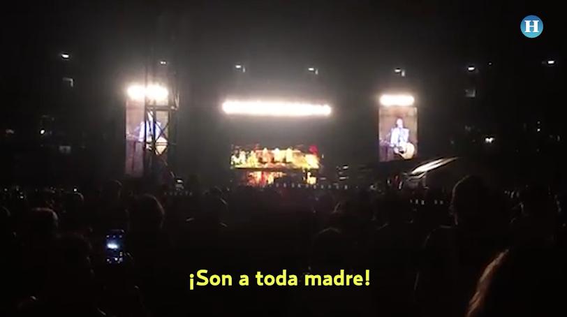 """""""¡Son a toda madre!"""", gritó Paul McCartney a sus fans"""