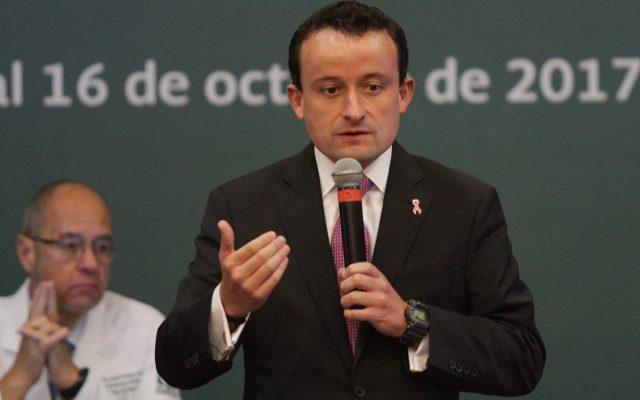 Mikel Arriola, director general del IMSS. CUARTOSCURO.
