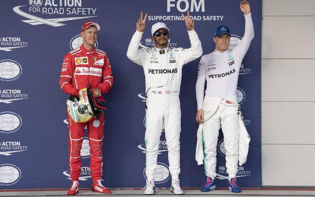Lewis Hamilton sigue mostrando su hegemonía al ganar la 'pole' 72 de su carrera para el Gran Premio de Estados Unidos; Checo Pérez saldrá noveno.