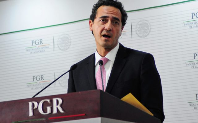 Alberto Elías, titular de la PGR.