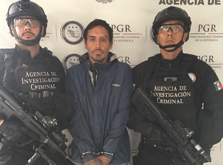 """Recibe la PGR a """"El Matanovias""""; lo trasladan al Reclusorio Norte"""