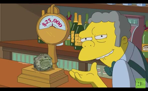 Los Simpson se animan y donan a favor de Puerto Rico