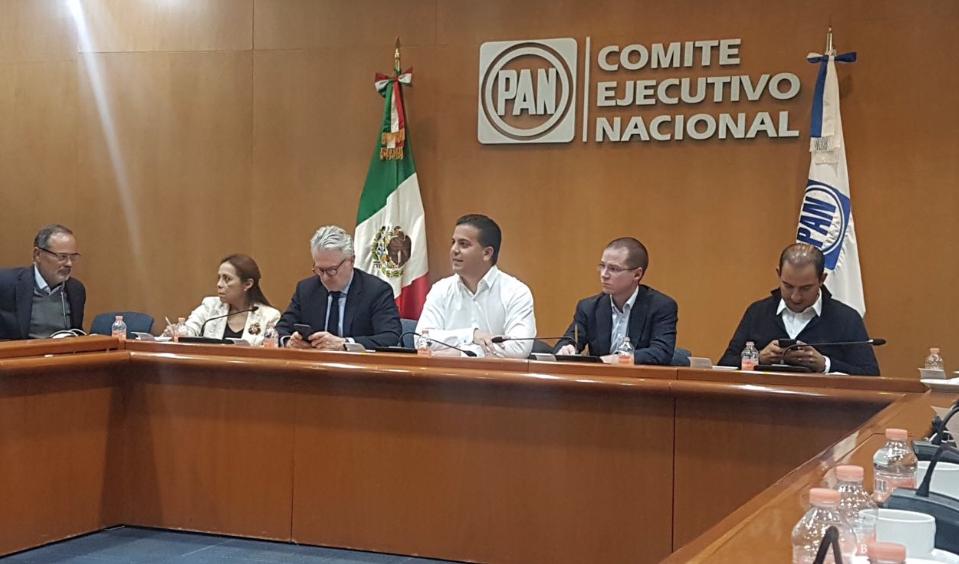 Aprueba Comisión Permanente del PAN proyecto del Frente