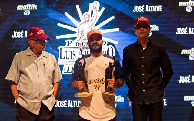 El pelotero venezolano José Altuve, campeón con los Astros de Houston, admira la gran temporada de su rival para el MVP de la Liga Americana