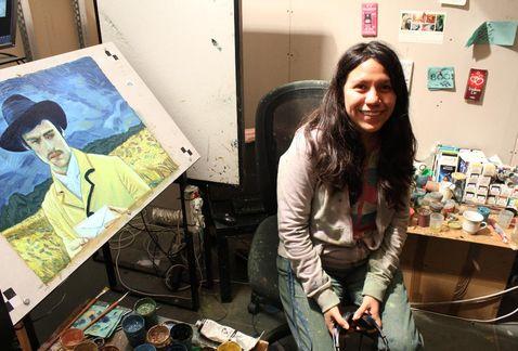 Mayra Hernández, la mexicana que animó a Van Gogh