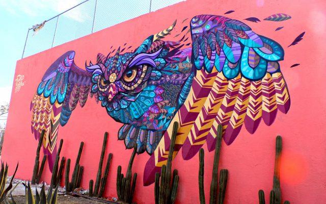 Pintan para transformar sus barrios