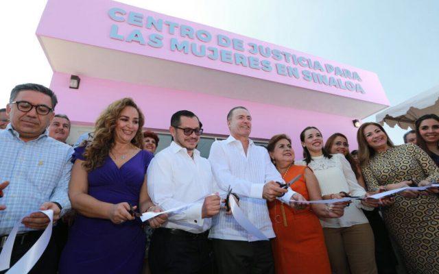 Quirino inaugura Centro de Justicia para las Mujeres en Sinaloa