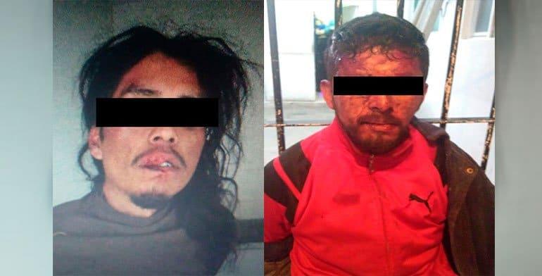 Retienen y golpean a presuntos delincuentes en Hidalgo