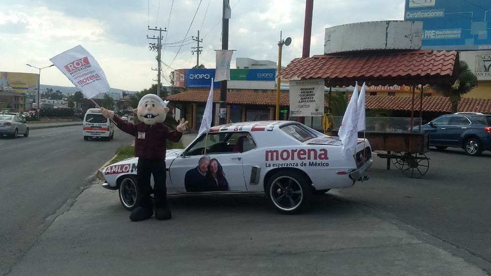 """""""Amlomóvil"""" circulará por calles de Hidalgo"""