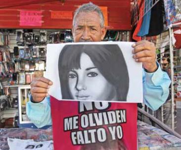 BÚSQUEDA. Así se vería en la actualidad Esmeralda, la hija menor de José Luis Castillo, que desapareció en 2010, en Ciudad Juárez.