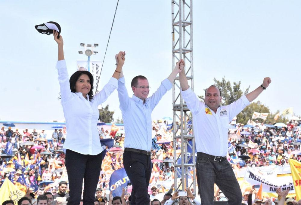 Barrales y Anaya respaldan