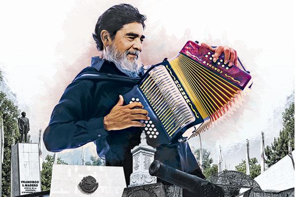 El homenaje a Celso Piña, no es fortuito, es producto de un contrato que el regiomontano —fallecido el 21 agosto— ya tenía pactado.  FOTOARTE: PAUL D PERDOMO
