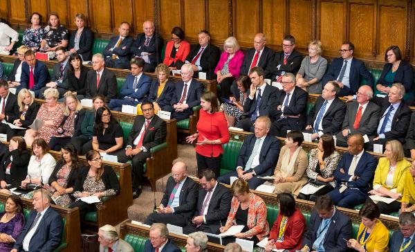 Parlamento británico, Reino Unido, guerra comercial, China, EU, Brexit,