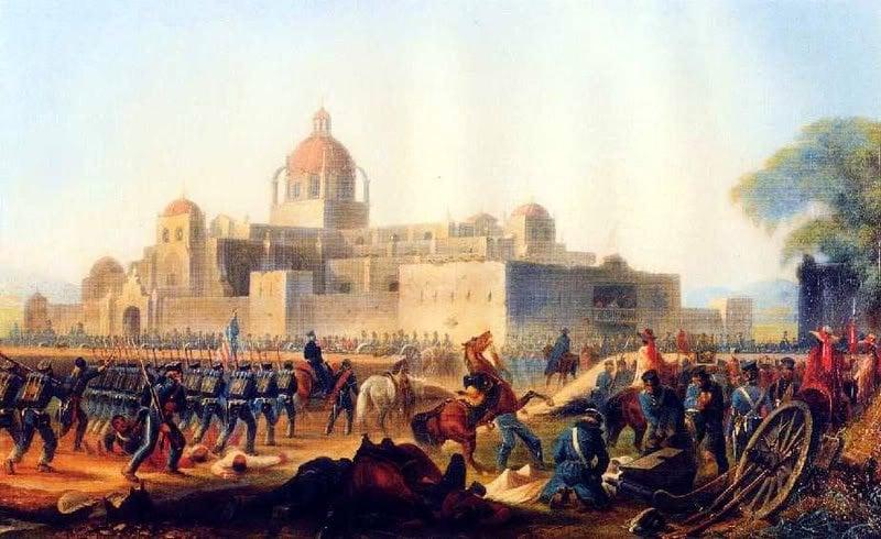FOTO: Batalla de Churubusco