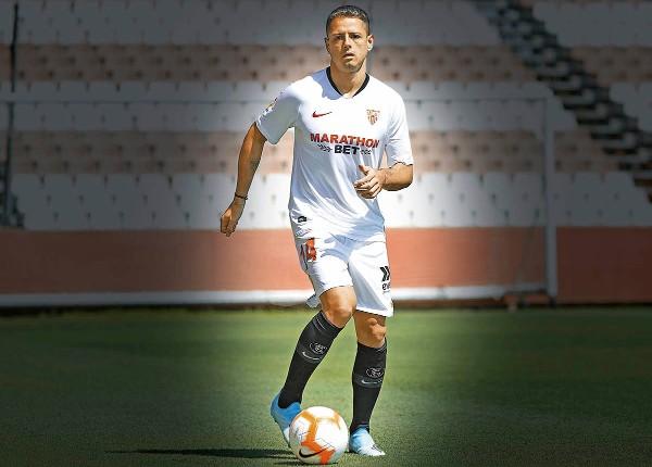 El Chicharito Hernández ha metido 124 goles en el fútbol europeo. Foto:  Mexsport