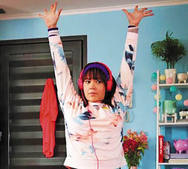 Fernanda Castillo subió 12 kilos para la película Dulce familia. Foto: Especial.