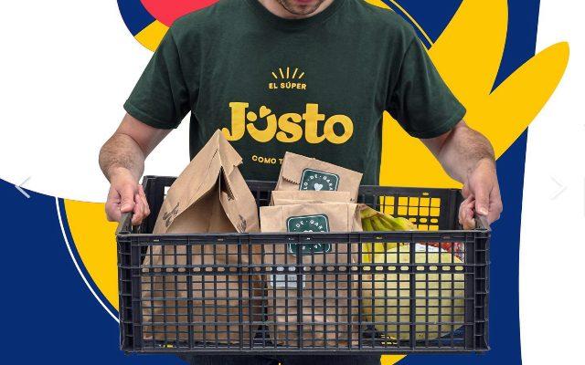 Jüsto primer supermercado 100% digital