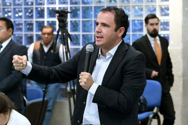 FOTO: Twitter @XavierAzuaraSLP  Xavier Azuara Zúñiga, diputado federal