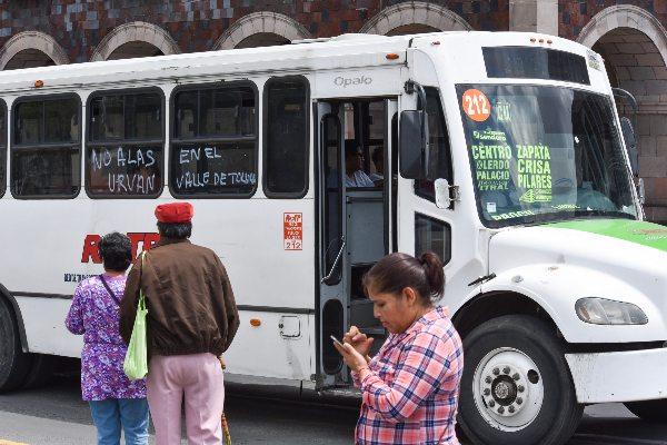 Semovi asegura que la prioridad es el usuario del transporte público