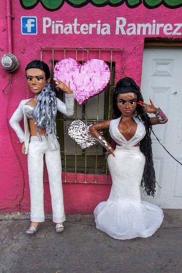 Piñatas Nicki Minaj y Karol G
