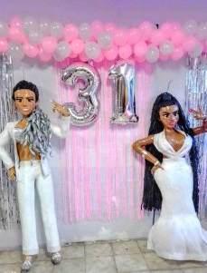 Piñata Nicki Minaj y Karol G