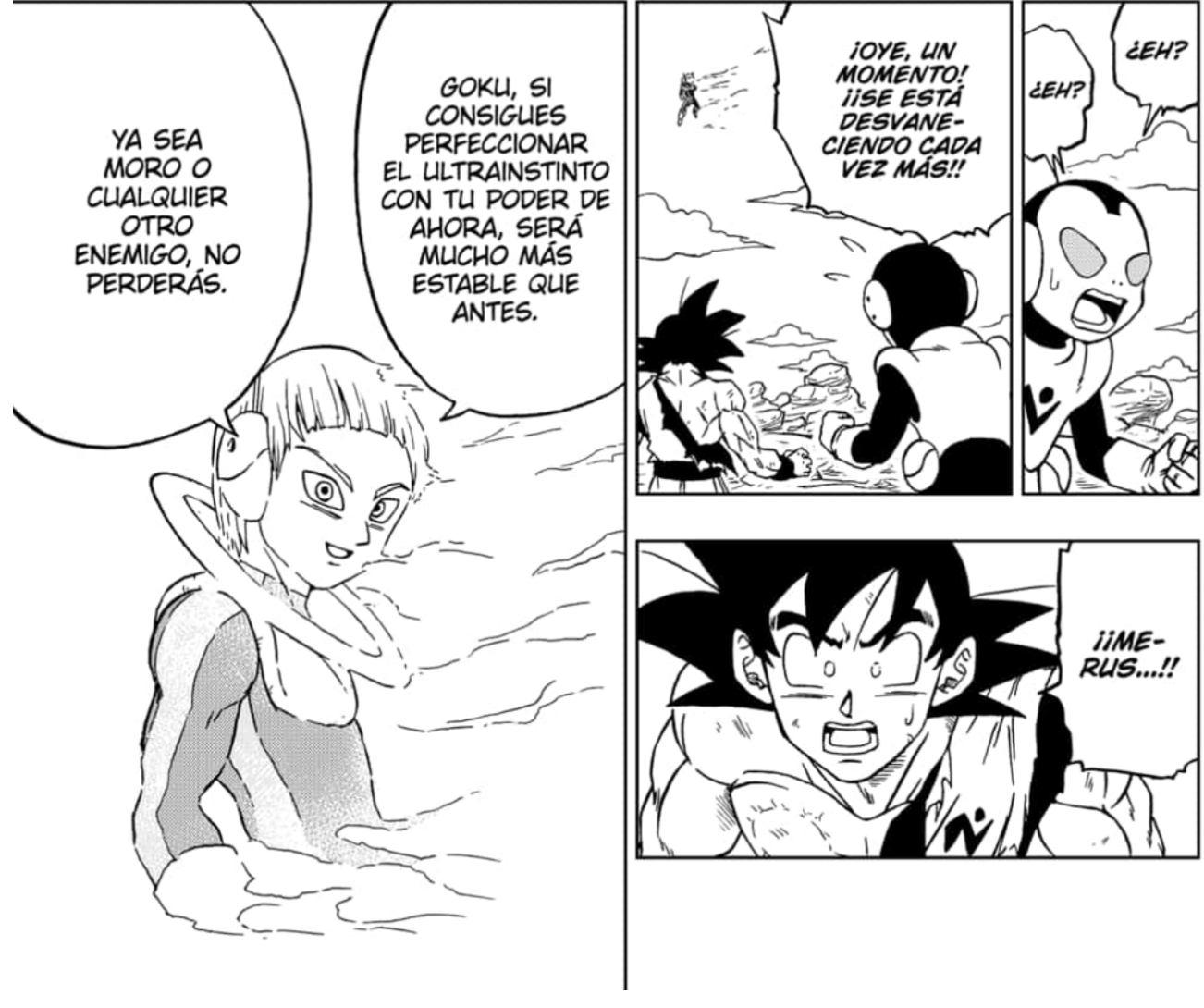 Muerte Merus Dragon Ball Super
