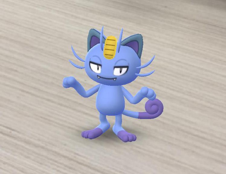 Meowth en Pokémon GO!